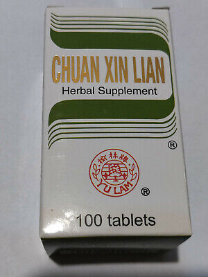 Chuan Xin Lian 100 Tablets By Solstice