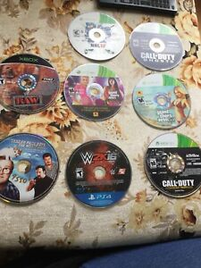 7 games for sale and a free trailer park boys movie