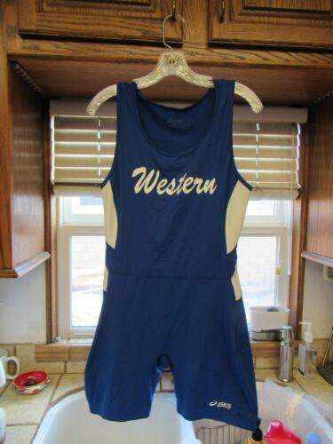 Western High School Anaheim wrestling team singlet men