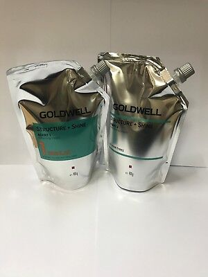 GOLDWELL Structure+Shine AGENT 1 Softening Cream 1 REGULAR+Neutralizing (1 set)