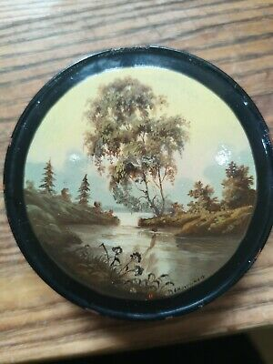 Russian Vintage Lacquer Box