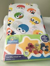 Sesame Street cot sheet set Redcliffe Belmont Area Preview
