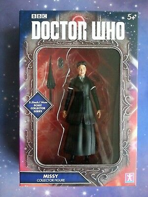 "Dr Who Outfits (DR WHO MISSY MASTER BLACK OUTFIT UMBRELLA VERSION COLLECTORS SERIES 5"")"