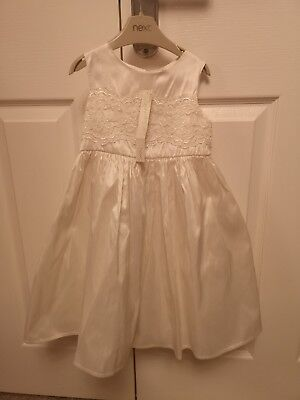 *Brand New* Next Signature Bridesmaid, Wedding, Party, Christening Dress Age... (Next Christening Dresses)