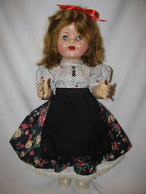 "21"" Vintage Ideal Flirty Eyed Saucy Walker Doll"