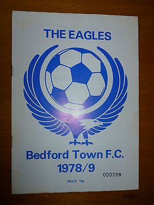 BEDFORD TOWN v WELLINGBOROUGH TOWN - Southern Lge 1978/79