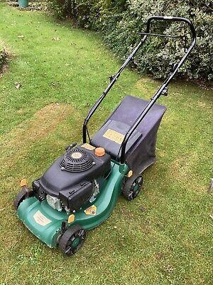 B&Q 40cm Petrol Hand Push Lawnmower