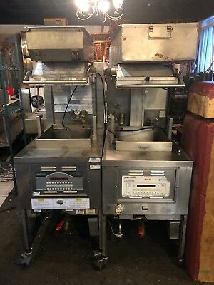 2 Henny Penny Pressure Fryer Gas 1 Pfg-690 One Is Sms Fried Chicken Detroit