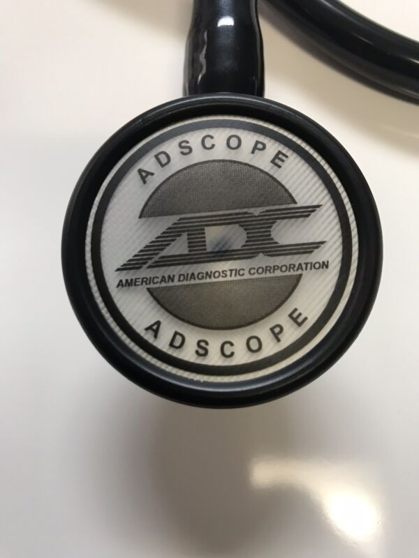 Great price! Brand New ADC Adscope 602 Cardiology Stethoscope BLACK.