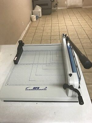 Hfs 17 Blade A3 Heavy Duty Guillotine Paper Cutter 17 Metal Base A3a4 Trimmer
