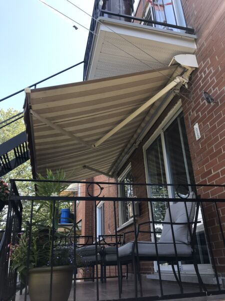 Auvent Retractable Awning 13X10 Top Quality   Mobilier ...