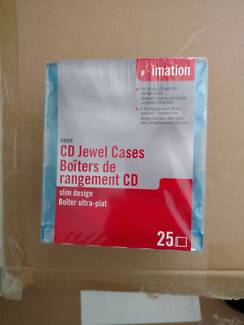 Imation CD cases x25