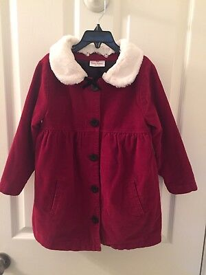 Hanna Andersson Christmas Lilla Claus Santa's Helper Girl Dress Coat 110 US - Santa Claus Girl Dress