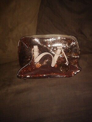 Michael Kors  grayson , rose colored purse sequined