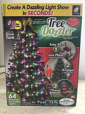 TELEBRANDS CORPORATION-As Seen On TV Tree Dazzler - Multicolor & Stackable