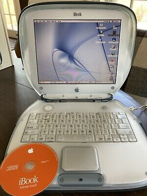 "Apple iBook M2453 12.1"" Laptop - M7716LL/A (July, 1999) Graphite"