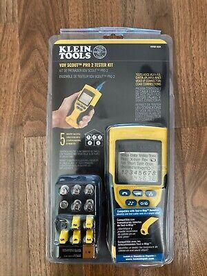 Klein Tools Vdv501-823rvdv Scout Pro 2 Tester Kit New In Box