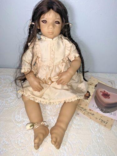 Annette Himstedt - AN MEI- 1997 Vinyl Doll w/coa  & box