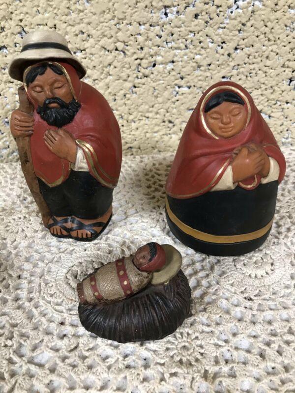 Peruvian Nativity Figurines Made in Peru
