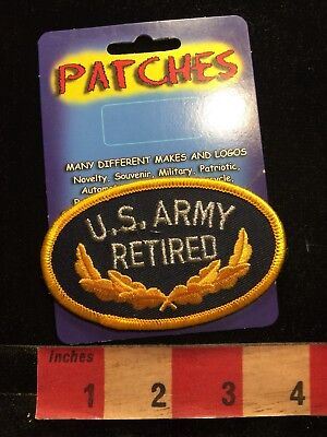 US ARMY RETIRED PATCH (New Old Stock) 86I3