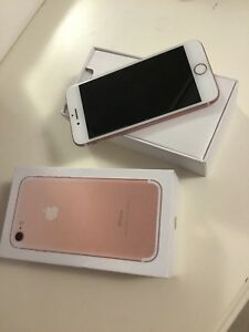 IPHONE 7 32GB ROSE GOLD $550 OBO