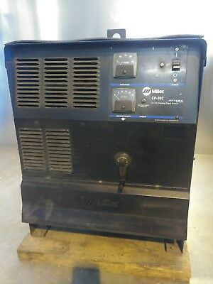 Miller Cp-302 Mig Welder 300 Amp 200230460v 100 Duty Cycle Used Condition