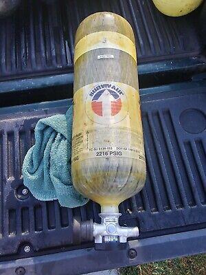Survivair 30 Min 2216 Psig Scba Carbon Tank Cylinder 2007 Tested In 0318