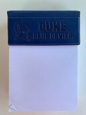 Spirit Products Duke Blue Devils Euro Executive Note Pad Rip Off Paper (Duke Blue Devils Paper)