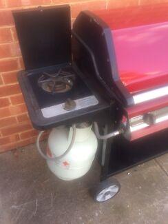 BBQ grange 4 burner with side burner