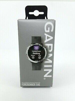 Garmin Forerunner 645 GPS Running Watch | Wrist-Based Heart Rate | BRAND NEW