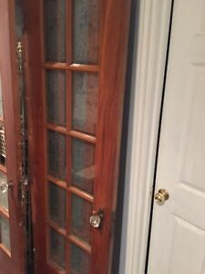 Vintage French doors x2