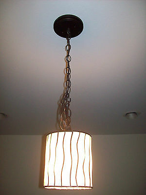 BRONZE TIFFANY STYLE MINI PENDANT/CHANDELIER LIGHT/LIGHTS/LAMP/LAMPS