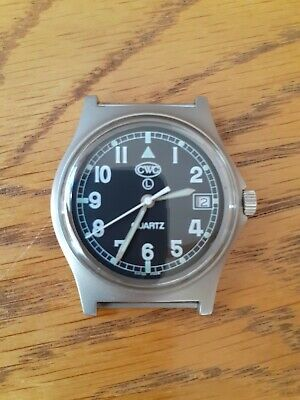 CWC G10 '6B' GS2000 military watch, with date indicator 1st edition.