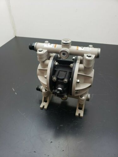 """Ingersoll Rand ARO Diaphragm Pump 66605J-344-M 100 Psi 6.8 Bar 1/2"""" In/Out 13Gpm"""