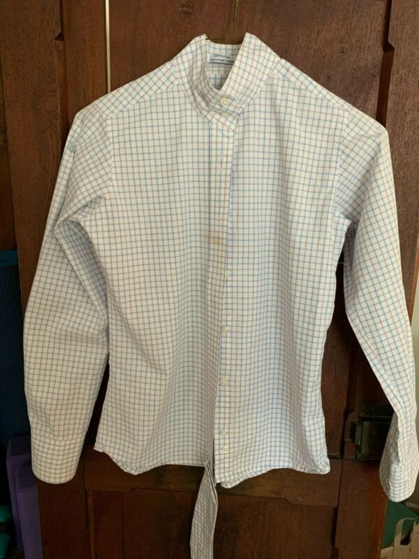 Prestige Collection Girls Equestrian Show Shirt, Size 14, used