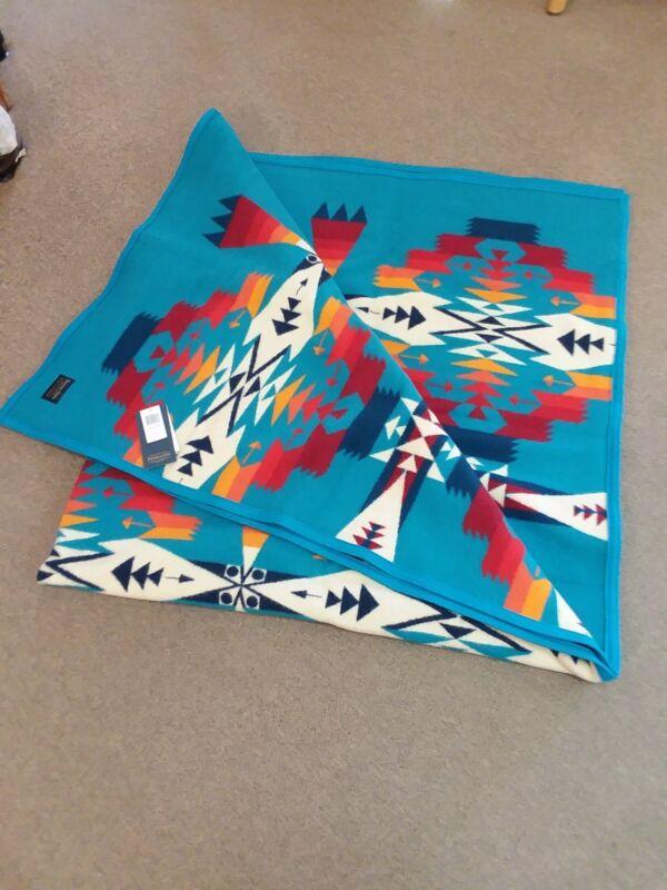 """Pendleton Tucson Robe Turquoise (64""""X80"""")"""