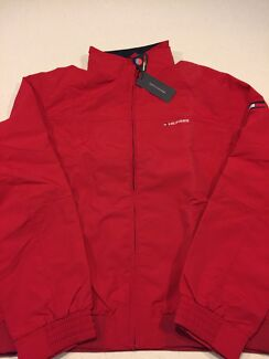 Tommy Hilfiger Yacht Men's Jacket Red Genuine Brand New with Tags  XL Rowville Knox Area Preview