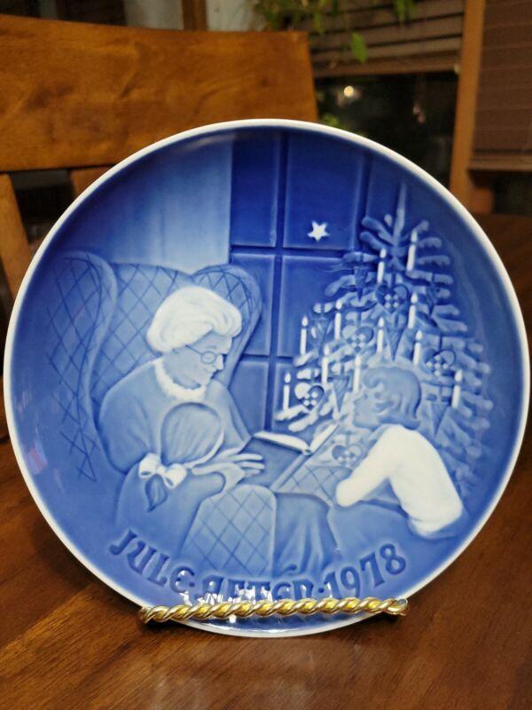 Vintage Bing And Grondahl 1978 Christmas Plate