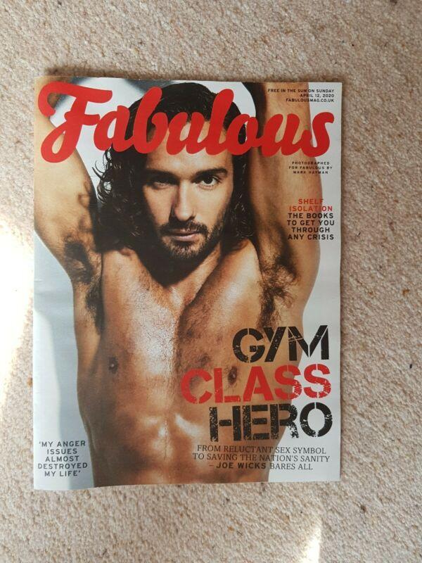 FABULOUS+Magazine+Joe+Wicks+12%2F4%2F20+New+Vogue+Williams+Gemma+Cairney