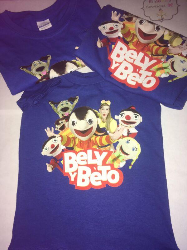 Camisas de Bely y beto.. El show de bely y beto