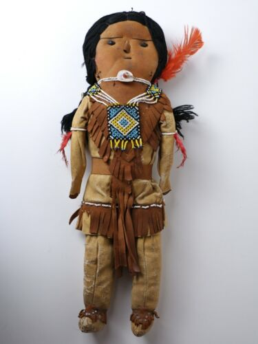 Native American Doll - Plains Indians - 1930-1940