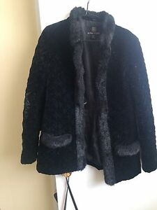 Alpine Studio faux fur coat