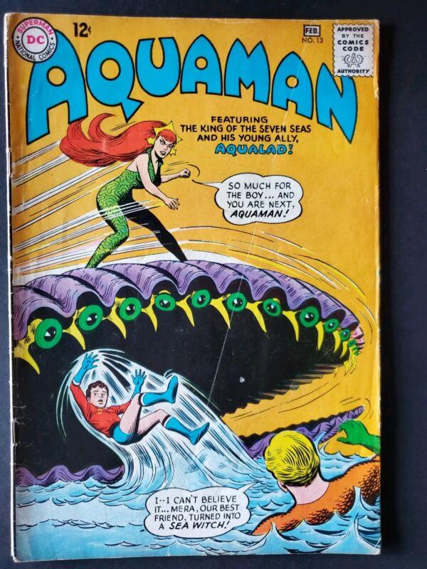 Aquaman #13 VG/FN 5.0 2nd Appearance Mera