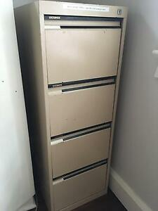 4 draw key locked filing cabinet Lane Cove North Lane Cove Area Preview