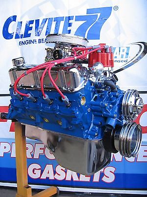 302 Mustang Engine - FORD 302 / 320 HP HIGH PERFORMANCE BALANCED TURN KEY CRATE ENGINE  MUSTANG TRUCK