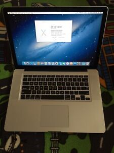 Good working condition MacBook Pro 15 inch 2012 i7/4GB RAM/240gb SSD