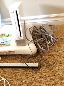 Nintendo Wii with balance board, Wii Fit Plus, Wii Sports game Peterborough Peterborough Area image 6