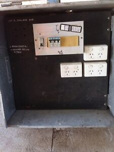 Builders temporary power box