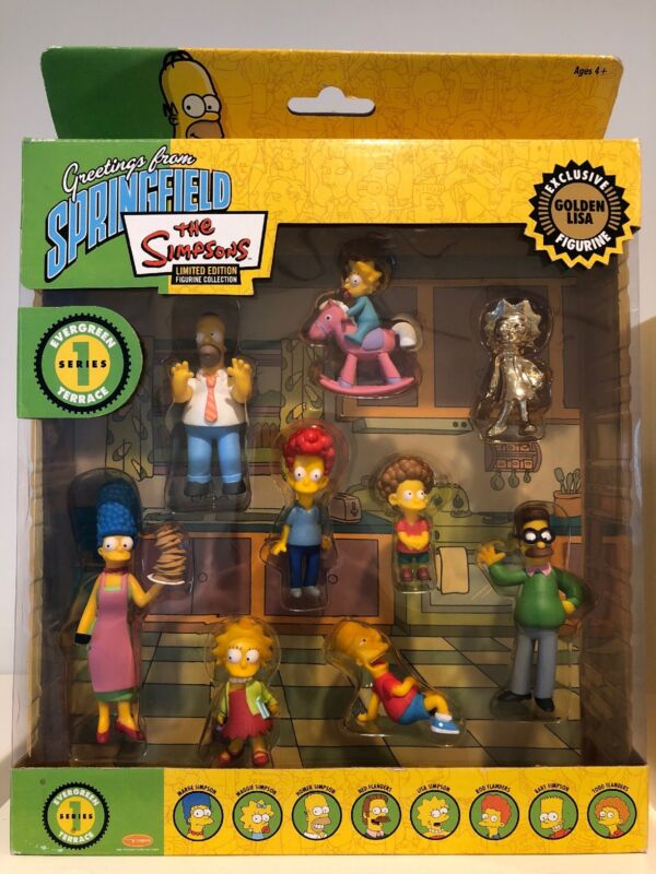 Simpsons Limited Edition Greetings from Springfield Collection Series 1 NIB Rare