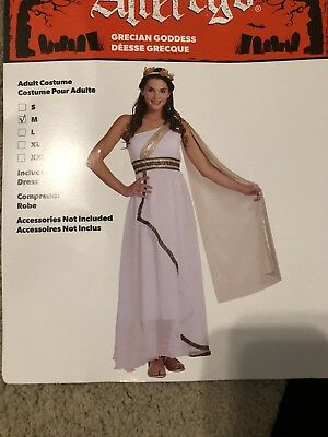 Grecian Goddess Cleopatra Halloween Costume Dress - Grecian Halloween Costumes